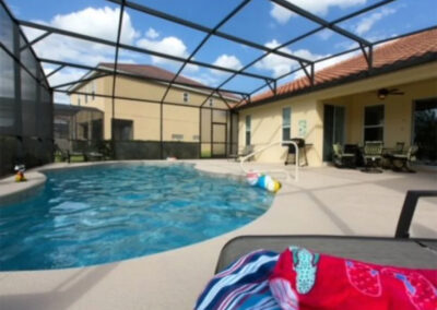 The swimming pool at Solterra Resort 131, Davenport