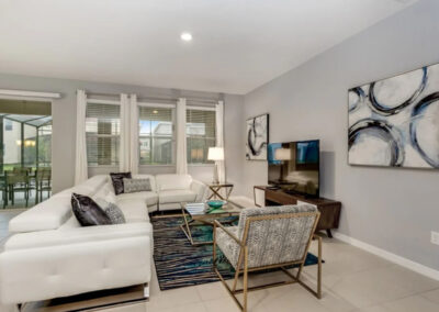 The living area at Solterra Resort 353, Davenport