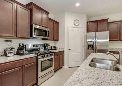 The kitchen at Solterra Resort 353, Davenport