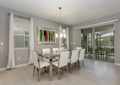 The dining area at Solterra Resort 353, Davenport