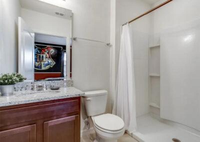 Bedroom #4 en-suite at Solterra Resort 353, Davenport