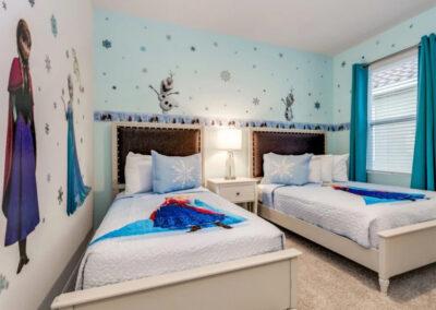 Bedroom #5 at Solterra Resort 353, Davenport