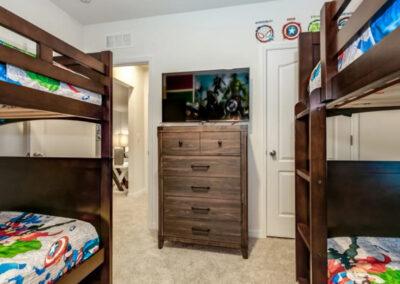 Bedroom #6 at Solterra Resort 353, Davenport