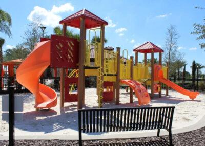 The children's play area at Solterra Resort, Davenport