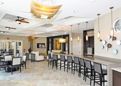The clubhouse at Solterra Resort, Davenport
