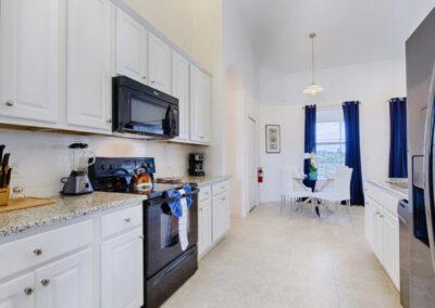 The kitchen at Solterra Resort 36, Davenport, Orlando