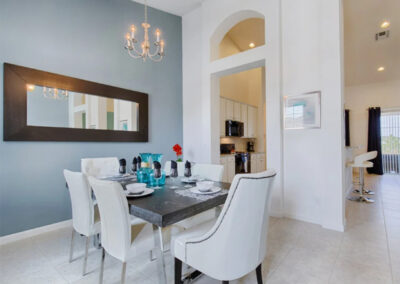 The dining room at Solterra Resort 36, Davenport, Orlando