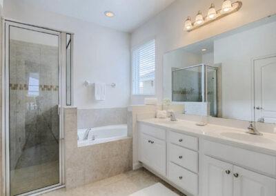 Bedroom #1 en-suite at Solterra Resort 36, Davenport, Orlando