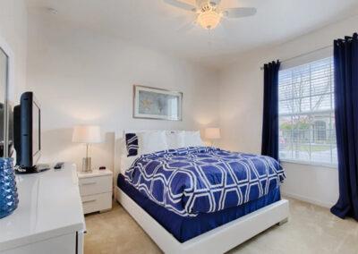 Bedroom #2 at Solterra Resort 36, Davenport, Orlando