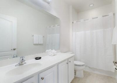 Bedroom #2 en-suite at Solterra Resort 36, Davenport, Orlando