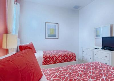 Bedroom #3 at Solterra Resort 36, Davenport, Orlando