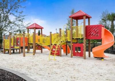 The children's playground at Solterra Resort, Davenport, Orlando