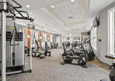 The fitness centre at Solterra Resort, Davenport, Orlando