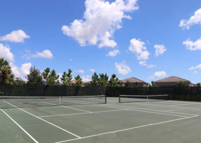The sports courts at Solterra Resort, Davenport, Orlando