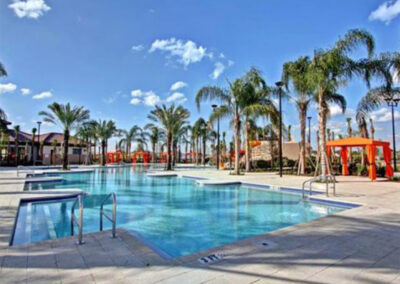One of the swimming pools at Solterra Resort, Davenport, Orlando