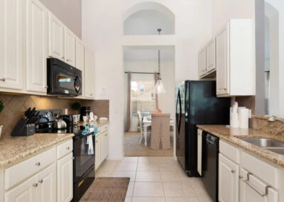 The kitchen at Solterra Resort 390, Davenport, Orlando