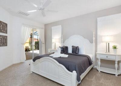 Bedroom #1 at Solterra Resort 390, Davenport, Orlando