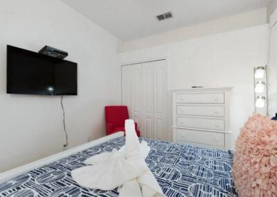 Bedroom #2 at Solterra Resort 390, Davenport, Orlando