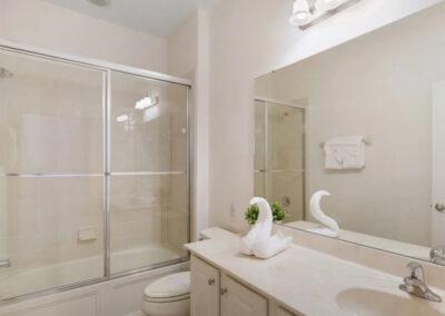 Bedroom #2 en-suite at Solterra Resort 390, Davenport, Orlando