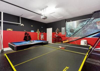 The games room at Solterra Resort 390, Davenport, Orlando