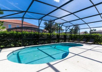 The swimming pool at Solterra Resort 390, Davenport, Orlando