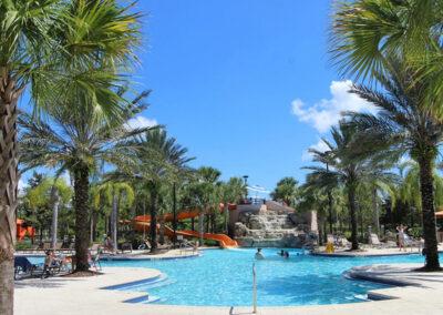 One of the resort swimming pools at Solterra Resort, Davenport, Orlando