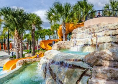 The lazy river at Solterra Resort, Davenport, Orlando