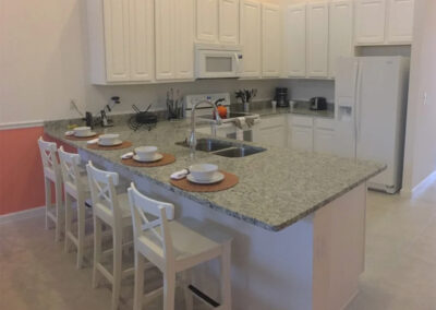 The kitchen at Sonoma Resort 4, Kissimmee, Orlando