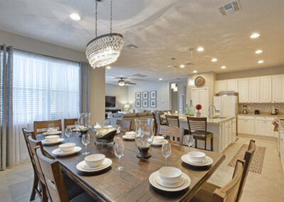 The dining area at Sonoma Resort 41, Kissimmee, Orlando