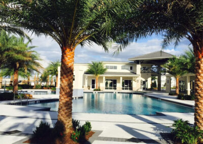 One of several swimming pools at Sonoma Resort, Kissimmee, Orlando