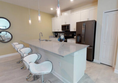 The kitchen at Storey Lake Resort 208, Kissimmee, Orlando
