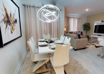 The dining area at Storey Lake Resort 208, Kissimmee, Orlando
