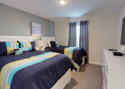 Bedroom #1 at Storey Lake Resort 208, Kissimmee, Orlando