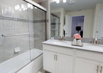 Bedroom #2 en-suite at Storey Lake Resort 208, Kissimmee, Orlando