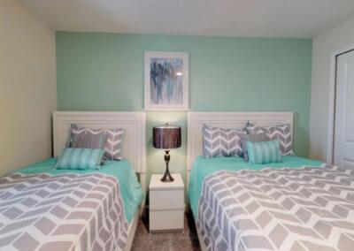 Bedroom #3 at Storey Lake Resort 208, Kissimmee, Orlando