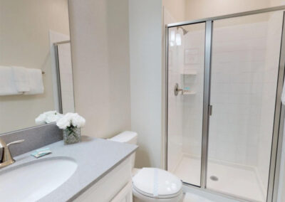 Ground floor bathroom at Storey Lake Resort 208, Kissimmee, Orlando