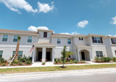 Storey Lake Resort 208, Kissimmee is a four bed, three bath townhouse just ten mins from Disney. Tastefully furnished, it has a private plunge pool & outdoor terrace. Resort amenities include mini golf, water park, lazy river, sports courts & poolside dining.