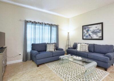 The living area Storey Lake Resort 66, Kissimmee, Orlando