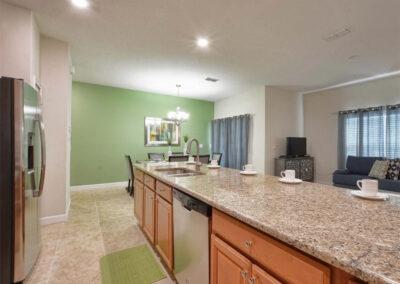 The kitchen at Storey Lake Resort 66, Kissimmee, Orlando