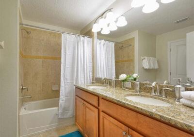 Bedroom #2 en-suite at Storey Lake Resort 66, Kissimmee, Orlando