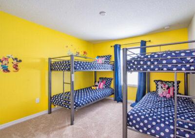 Bedroom #4 at Storey Lake Resort 66, Kissimmee, Orlando
