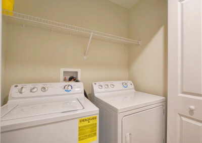 The laundry room at Storey Lake Resort 66, Kissimmee, Orlando