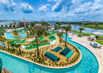 One of the resort pools at Storey Lake Resort, Kissimmee, Orlando