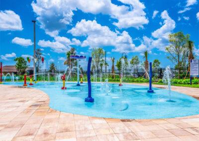 The splash pool at Storey Lake Resort, Kissimmee, Orlando