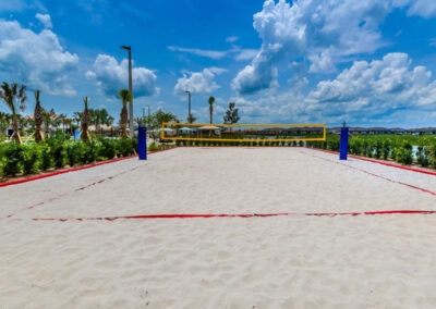 Enjoy a few games of beach volleyball at Storey Lake Resort, Kissimmee, Orlando