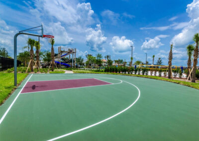 One of several sports courts at Storey Lake Resort, Kissimmee, Orlando