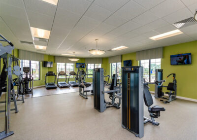 The fitness centre at Storey Lake Resort, Kissimmee, Orlando