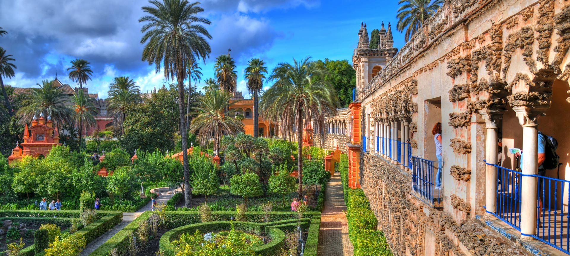 The Alcázar of Seville began its life as a fortified Moorish palace. Today, the palace is still a royal residence and is often used as a film set. It has been used in Hollywood movies 'Lawrence of Arabia', 'Knight and Day' and Ridley Scott's '1492: Conquest of Paradise' and was also used in Game of Thrones.
