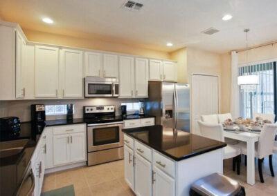 The kitchen at Veranda Palms 10, Kissimmee