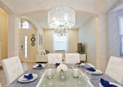 The dining area at Veranda Palms 10, Kissimmee
